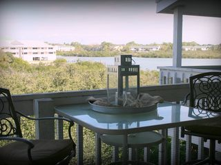 Indian Shores condo photo - View from the spacious balcony. Perfect spot to enjoy your morning coffee.
