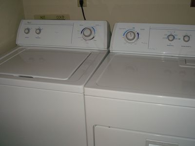Full-Sized Washer & Dryer in Condo