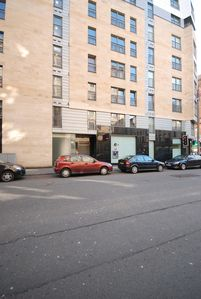 Glasgow & Clyde Valley apartment rental - Main entrance with secure entry