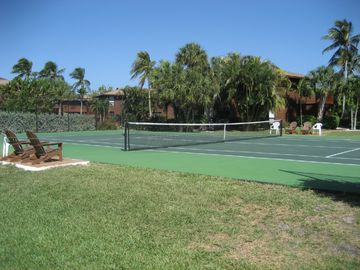 One of the Championship Tennis Courts