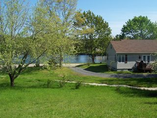Lunenburg house photo - 1.9 acres of oceanview, mature fruit trees and woodland