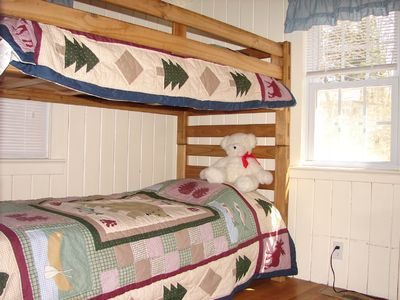 Bunks in second bedroom