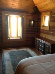 Angel Fire house photo - Second Bedroom with Queen Bed.