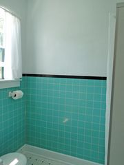 Vineyard Haven house photo - downstairs bathroom with shower