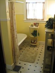 Portland house photo - Main Floor Bath with 6' Clawfoot Tub