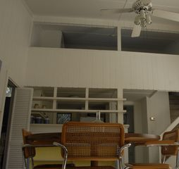 Sanibel Island cottage photo - View DR to loft.