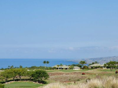 Kumulani F-2 has amazing views of the ocean and kohala coast as well as the golf course.