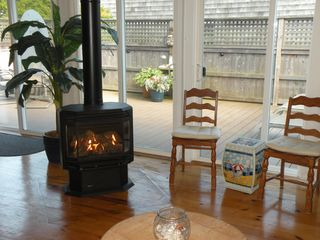 Ocean Bay Park house photo - Gas Fireplae