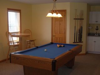 Carova house photo - pool table and pub table