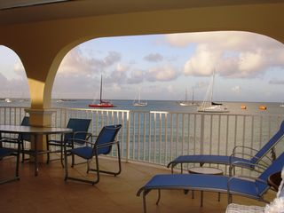 Simpson Bay condo photo - Veranda view