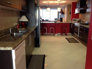 Puerto Vallarta condo photo - Kitchen with Bay View