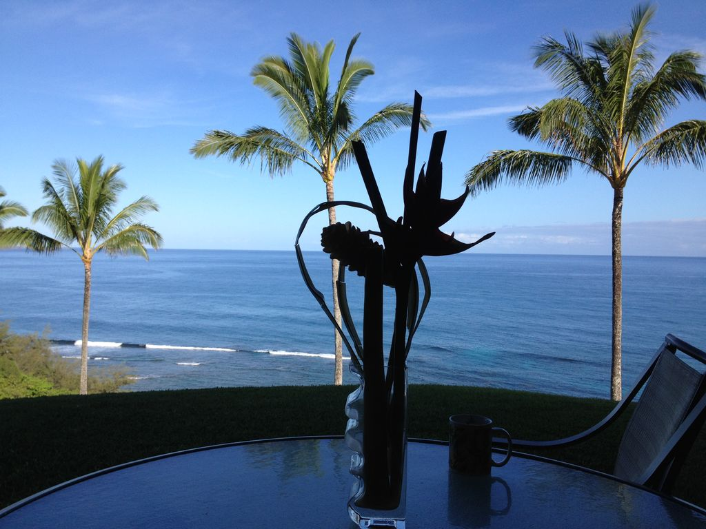 Enjoy your Coffee from Lanai in the Morning