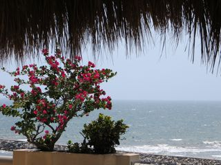 Nuevo Vallarta condo photo - View from palapa master balcony. Anoher spot for al fresco dining.