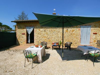 Beautiful agritourism in the Val D'Orcia with pool and fantastic views