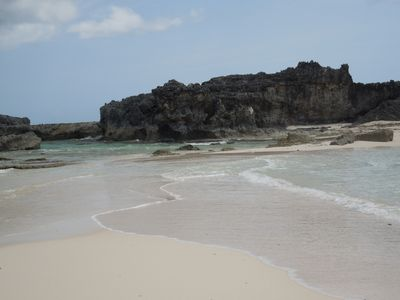 Explore Middle Caicos - Mudjin Harbour, Conch Bar Caves, and Dragon Cay.