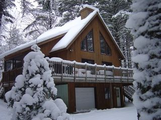 Paul Smiths chalet photo - Ski out your front door!