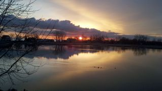 Oak Harbor condo photo - Yep, this is the beautiful sunrise in Oak Harbor, Ohio!