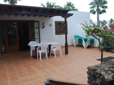 Playa Blanca bungalow rental - 3 bedroom villa