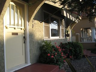 Long Beach apartment photo - Front of the building & entrance to the retreat on the left