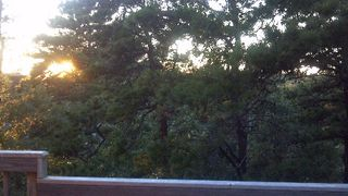 Sunset from deck - Wellfleet house vacation rental photo