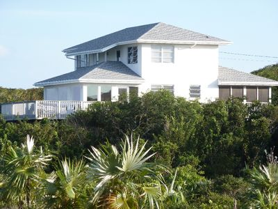 Lochabar Beach House showing Oceanside deck