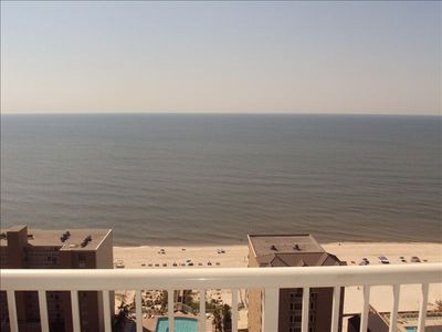 Enjoy the breathtaking views from this 20th floor balcony!!!