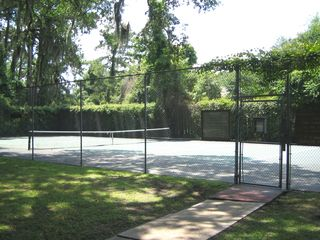 Sea Pines house photo - Private tennis court for Greenwood Forest Community