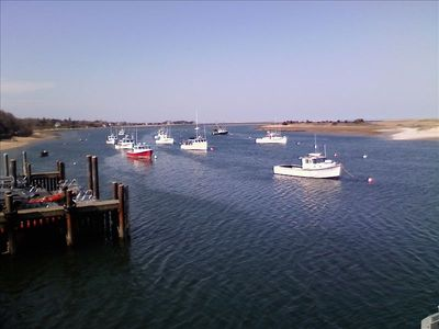 Visit nearby Chatham Fishing Dock and watch the day's catch come off the boats!