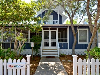Front Exterior | Rainbow A-1 | Cottage Rental Agency | Seaside, FL