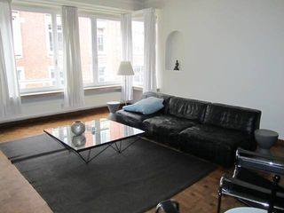 Antwerp City apartment photo - the sitting with the view to 19 century building view