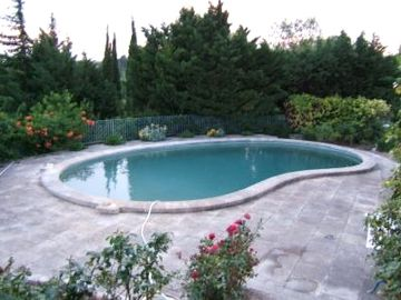 Private pool and garden. Pool is about 12m x 6m (40' x 20').