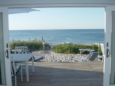 Wading River house rental - Sand & Beach Right off your Deck