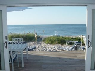 Wading River house photo - Sand & Beach Right off your Deck