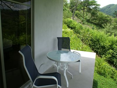 Nicoya house rental - Terrace outside of Guest Bedroom