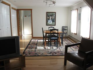 Lubec house photo - Long View to Dining Area