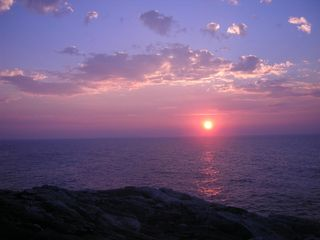 Pemaquid Point cottage photo - Another sunrise