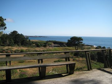 more of the ocean view from deck (Mendocino Headlands in background)