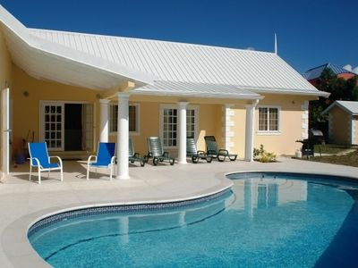 Tobago villa rental - Exterior and pool