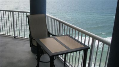 Balconies Have Upgraded Chairs(4), Tables (2), Cushioned Lounges (2)