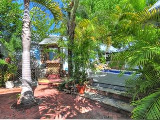 Key West cottage photo - The lush pool area!