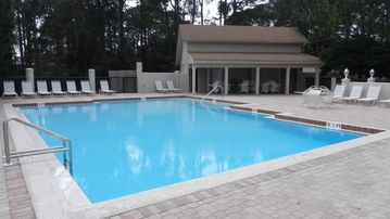 One of 2 owners pools