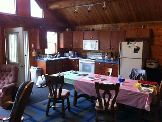 Cross Lake cabin photo - Kitchen - Dining Area