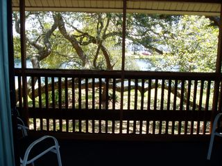 Kingston Plantation condo photo - Enjoy your morning coffee on the screened balcony.