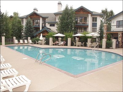 Heated Pool & 2nd Hot Tub area with Clubhouse
