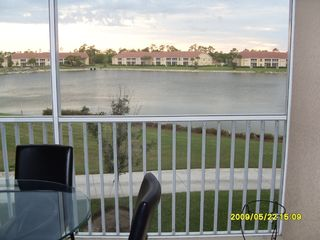 Naples condo photo - View of lake from lanai