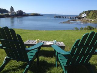 Swim Or Kayak Right From The Back Yard Homeaway Orrs Island