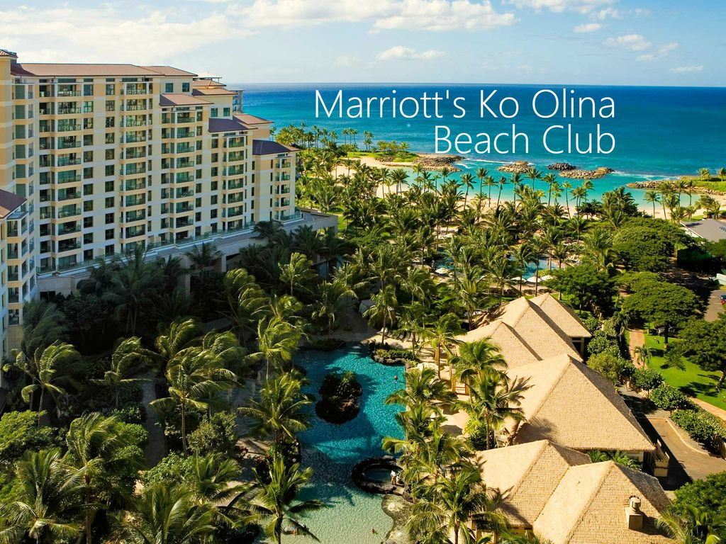 Marriotts Ko Olina Beach Club  2BR with  VRBO