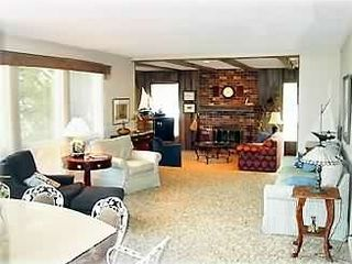 Interlochen house rental - Main house living and family rooms