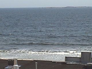 Old Orchard Beach condo photo - View from balcony/deck off the Living Room