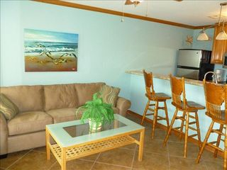 Galveston condo photo - The queen sleeper sofa is very comfortable